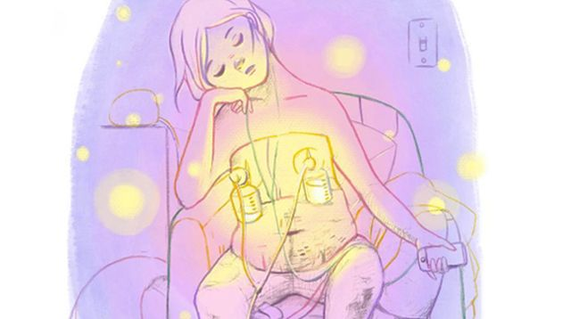 These 21 Illustrations on Breastfeeding Are Spot On