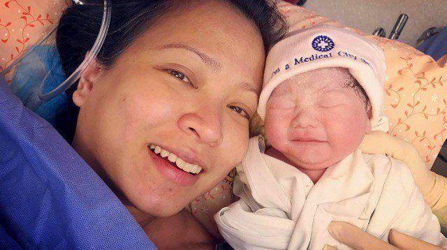 Delamar Arias Gives Birth to a Baby Girl. Hello, Harper Adeline!