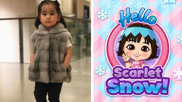 Cute! Scarlet Snow Now Has a Free Educational App