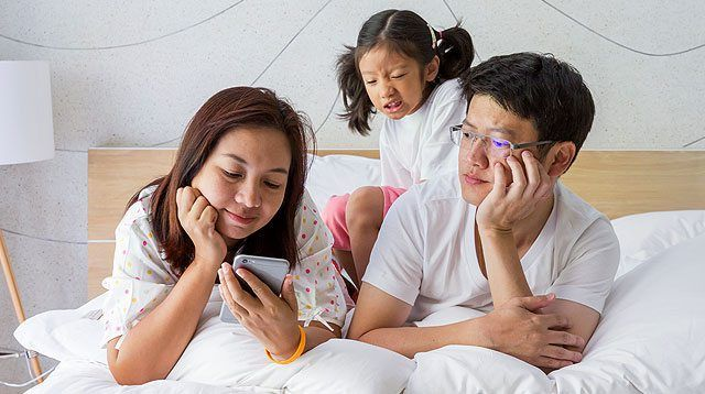 Do You Feel Like You Have a Whiny Kid? Your Phone May Be to Blame