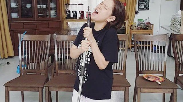 LOL! This Video of Neri Naig Singing While Cleaning Makes Our Day