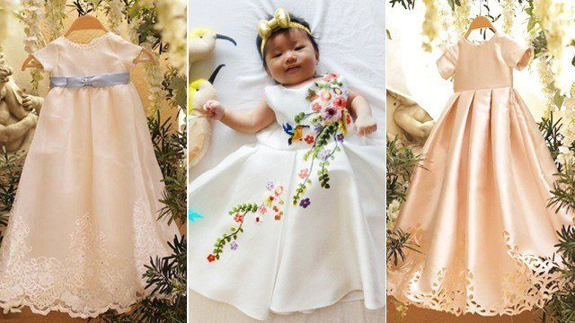 These Christening Gowns Are Family Heirloom Pieces in the Making