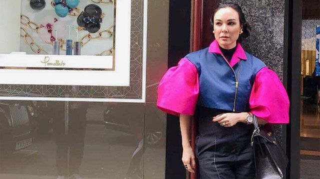 Gretchen Barretto Wears Daughter's Fashion Creations in London