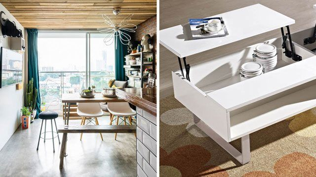 6 Multitasking Furniture For Small-space Homes
