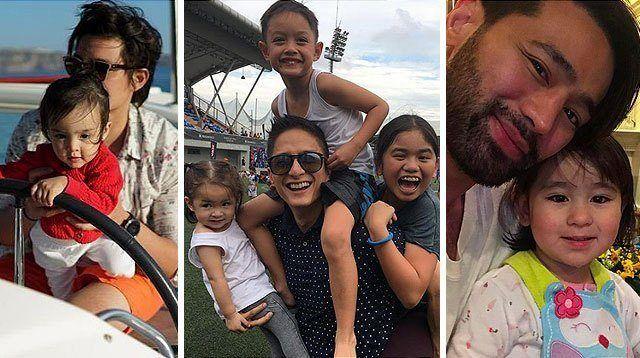 27 Celeb Dads Share Sweet and Wacky Bonding Antics With Kids
