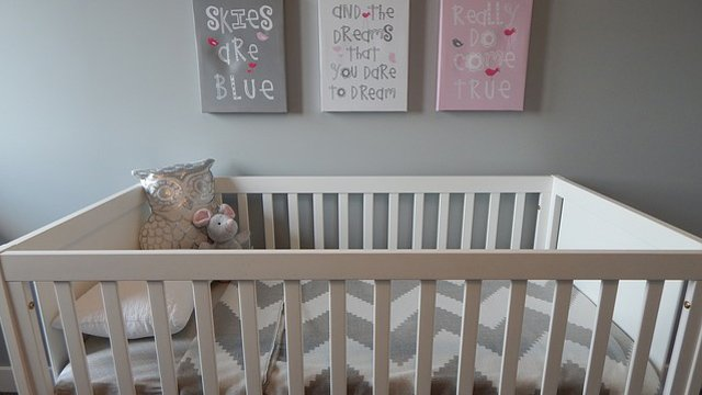 All You Need for a Nursery Located in the Master Bedroom
