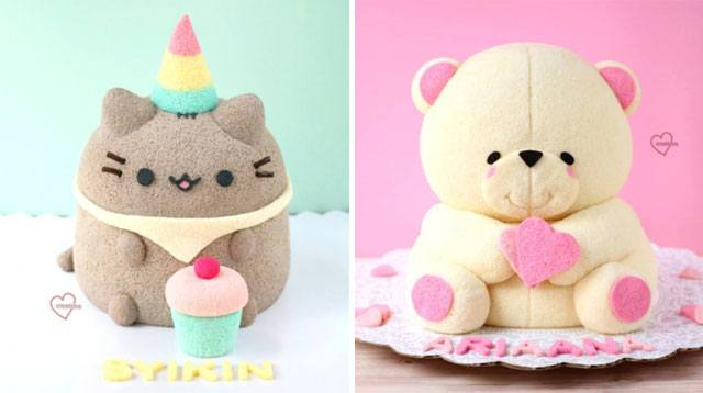These Cakes by a Stay-at-Home Mom are Modeled After Her Kids' Toys!