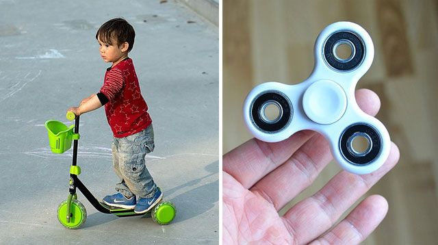 Fidget Spinners and Scooters Included in Most Dangerous Toys List