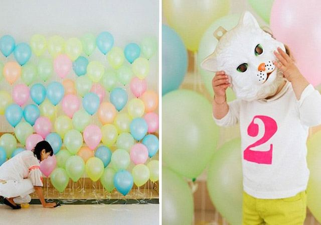 9 Easy Diy Photo Booth Backdrop Ideas For A Birthday Party Sp