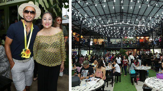 LOOK! Derek Ramsay and His Family Opened a Food Park in Tagaytay