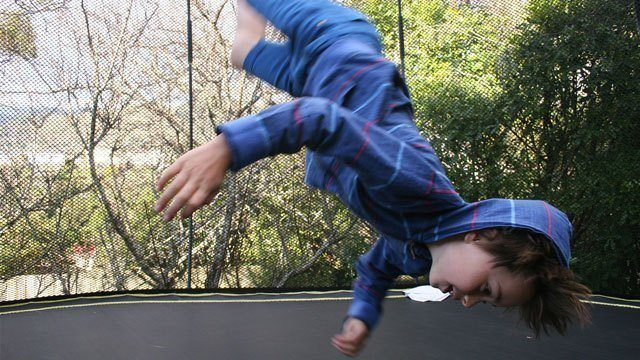 Trampolines Are Fun, But They Can Be Dangerous for Toddlers