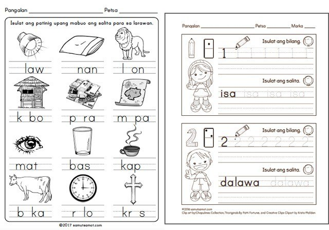 where to find free printable worksheets for reading and writing  sp run by a filipino homeschooling mom samutsamot has great quality  worksheets for preschoolers and primary students ranging