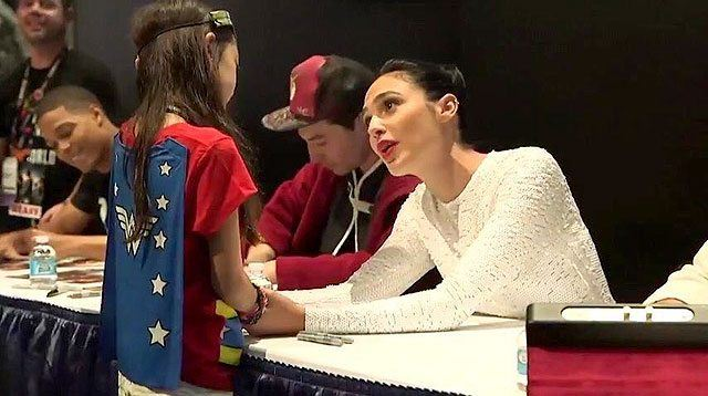 Gal Gadot Was a Real Wonder Woman to This Young Girl in Tears