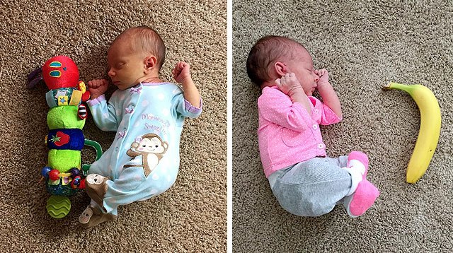 LOOK! Mom Shows One of the Easiest Ways to Document Baby's Growth