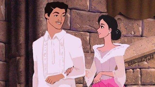 LOOK: Pinoy Artist Reimagines Disney Princesses as Filipinas
