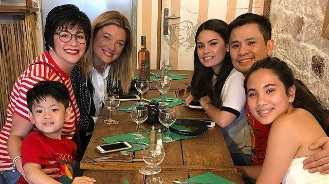 Regine, Michelle, and Kids Reunite to Mark Ogie's 50th Birthday