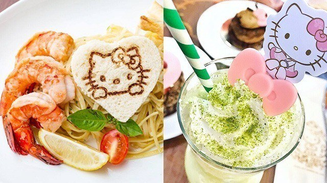 LOOK: Our Favorite Dishes at the New Hello Kitty Cafe