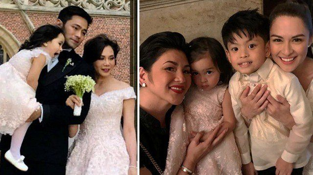 LOOK: Family Moments at Vicki Belo-Hadyen Kho Paris Wedding