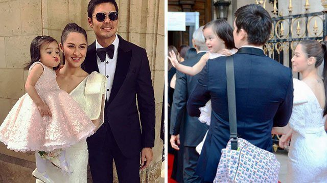 Dingdong's Daddy Duties in Paris: Carrying Zia's Designer Diaper Bag