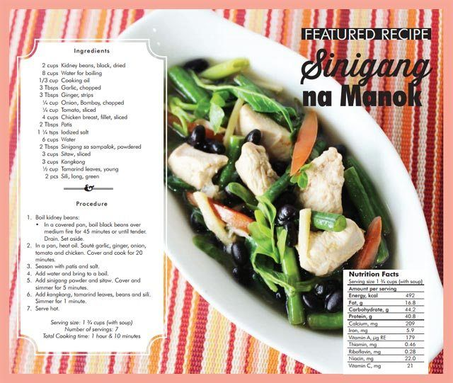 7 Easy Recipes Developed By Nutrition Experts For The Pinoy Family