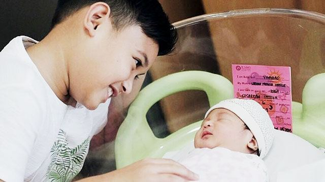 Say Hello to Camille and VJ's Daughter Nala Camilla!