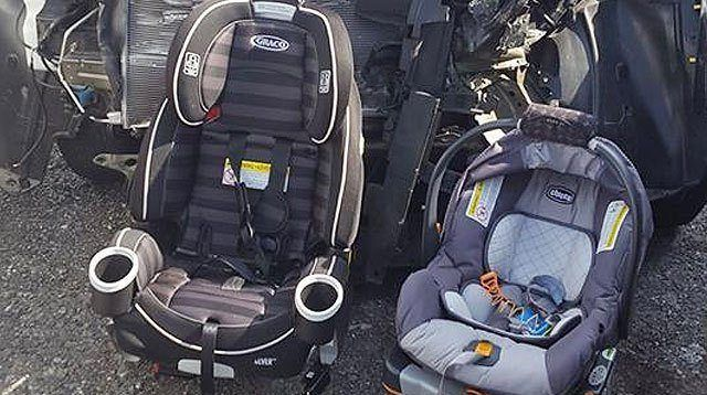 Car Crash Images That Show Why Car Seats Are Non-Negotiable