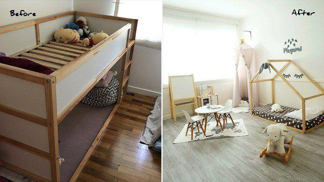 Mommy Makeover Project: A Bright and Inspiring Kiddie Room