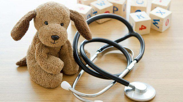 Doctors' Advice: Avoid Touching the Stuffed Toys at a Clinic's Waiting Room