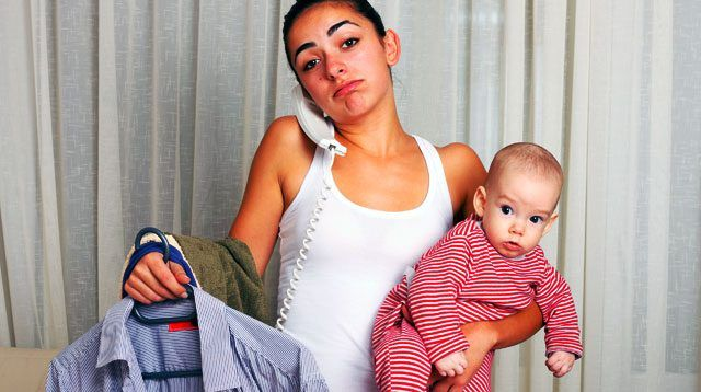 Moms Who Are Forced To Stay Home Are Most Unhappy, Study Shows