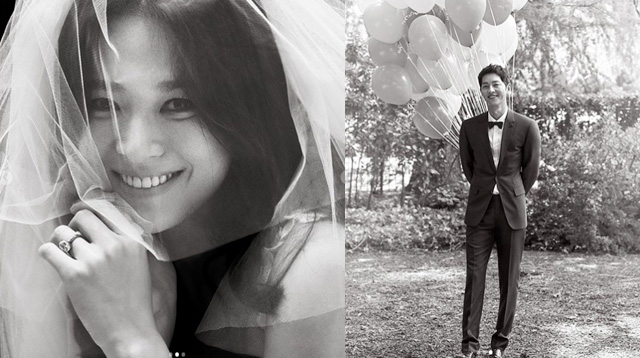 Korean Star Song Hye Kyo's Bouquet Reportedly Cost More Than Her Wedding Ring
