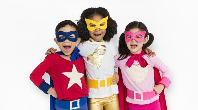 Make a Superhero Costume for your Kid--No Sewing Required!