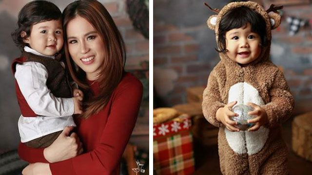 Baby Seve Starts the Race for Cutest Celeb Tot in Family Christmas Photo!