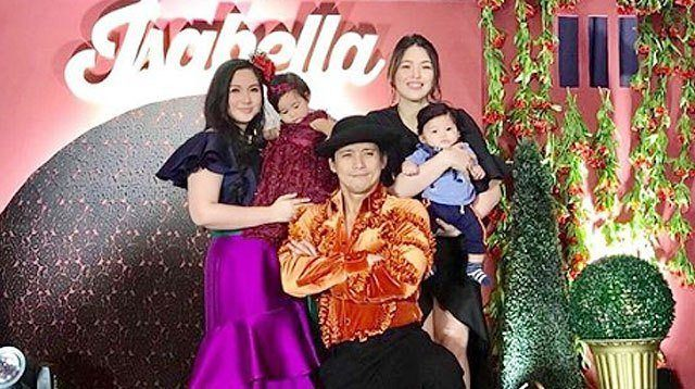 Robin Padilla Finally Meets Grandson Alas at Maria Isabella's 1st Birthday