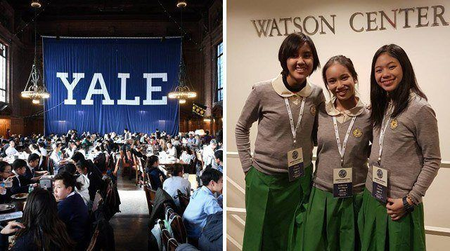 All-Pinay Team Gets Top Ranking in Prestigious World Scholar's Cup in Yale