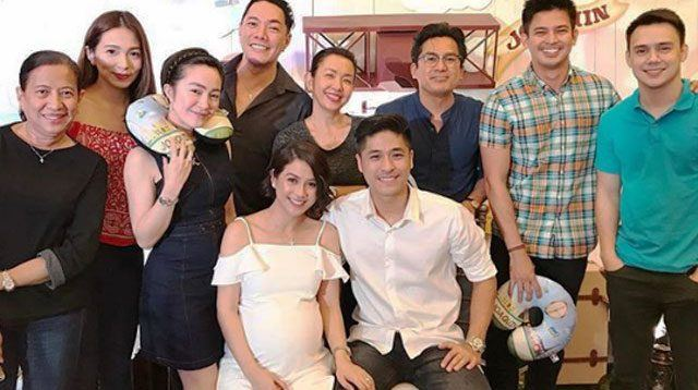 LOOK: Kaye Abad's Baby Shower Reunites Cast of 'Two Wives' Teleserye