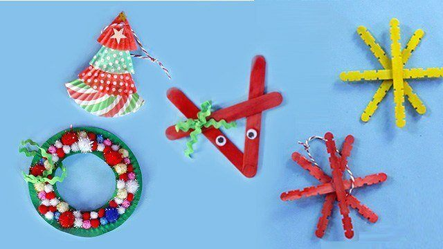 5 Christmas Tree Trinkets You Can DIY with Kids