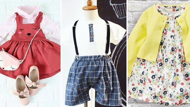 10 Online Shops With Adorable Holiday Outfits for Kids Below P1,000