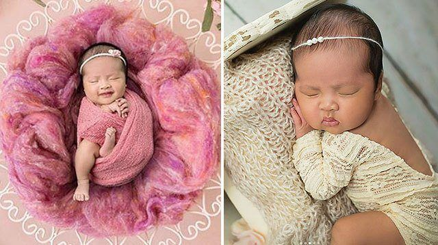 LOOK: Baby Talitha's Newborn Photos Are Oh-So-Cute!