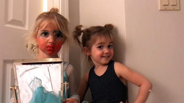We Can't Stop Laughing at This 3-Year-Old's Makeup Tutorial!