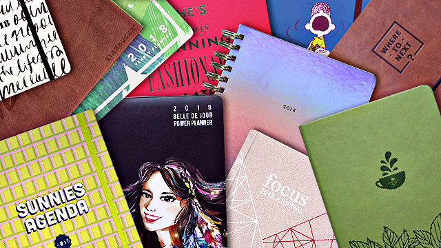 10 Planners That Will Help You Focus in 2018