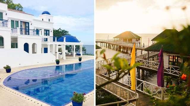 5 Family Resorts That Look Like Santorini, Maldives, and More