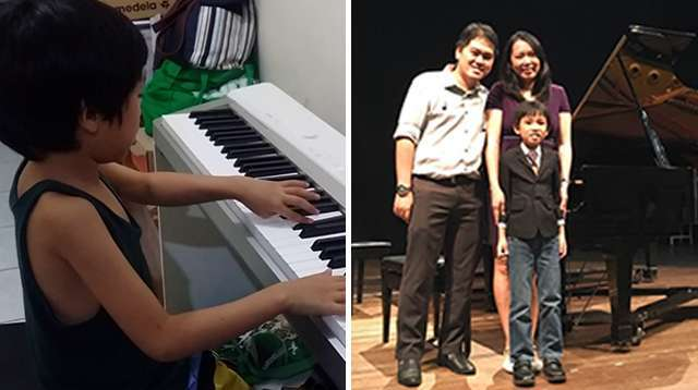 This 8-Year-Old Filipino With Autism Taught Himself to Play the Piano