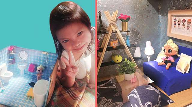 Pinay Mom Makes Tiny Dollhouses for Daughter (It Looks Better Than Your House!)