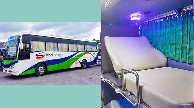Your Long Ride to Naga Is Now More Comfy With This Sleeper Bus
