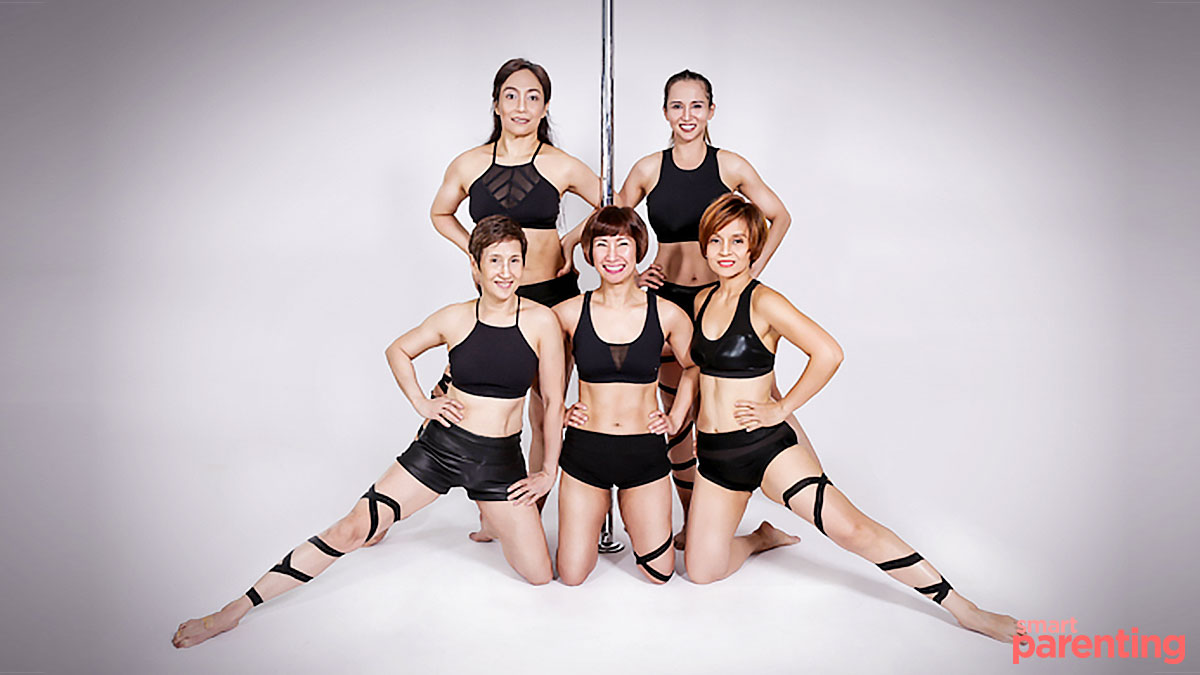 These Pole-Dancing Moms Aged 40 to 60 Show That Age Is Just a Number