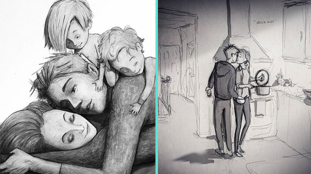 This Dad Draws the Everyday Moments in Life He Never Wants to Forget