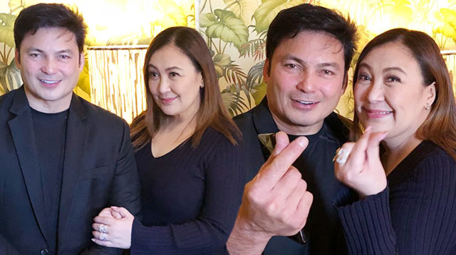 Gabby Concepcion Uses Hashtag 'Forgiveness' in Photo With Sharon Cuneta