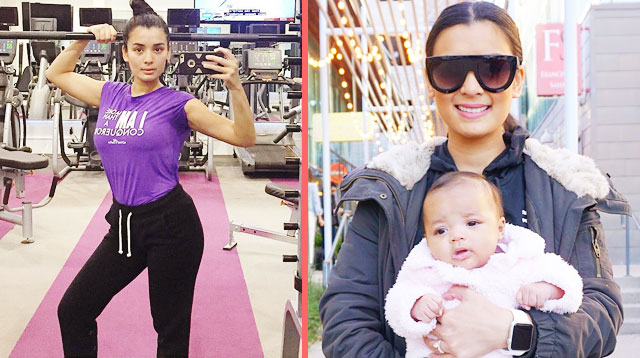 Michelle Madrigal Bravely Chronicles Post-Baby Fitness Journey: 'I Am A Work In Progress'