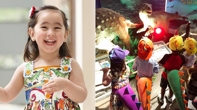 All the Details of Scarlet Snow's Dinosaur-Themed Birthday Party