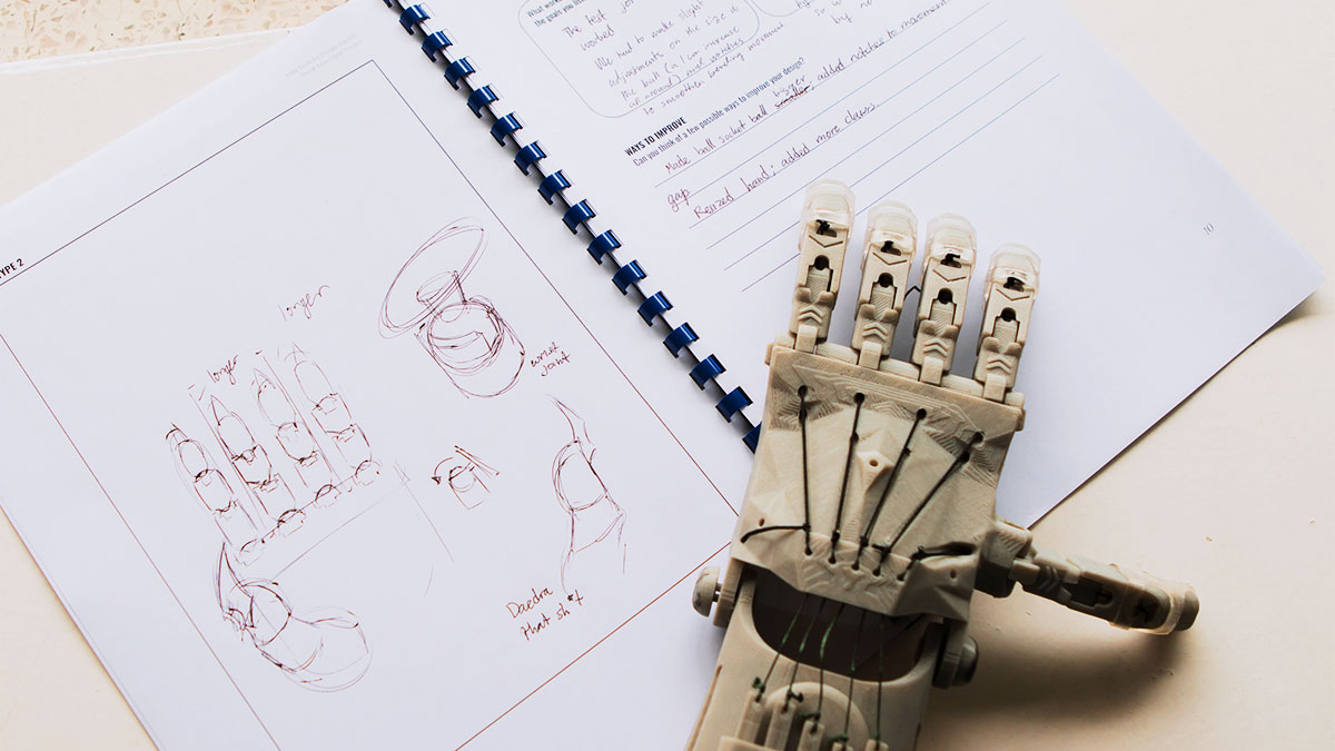 Go Inside a Class Where a High School Student Gets to Design Her Prosthetic Arm